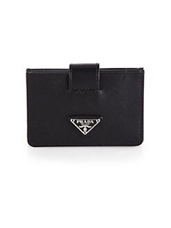 Prada - Saffiano Leather Accordian Card Case