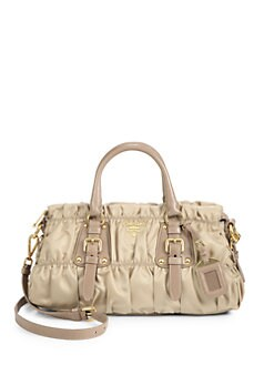 Prada - Tessuto Gaufre Satchel