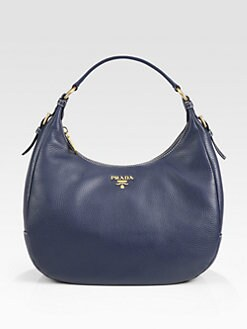 Prada - Vitello Daino Small Hobo