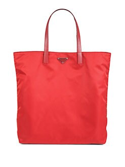 Prada - Vela Nylon Tote Bag