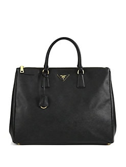 Prada - Large Saffiano Top Handle Bag