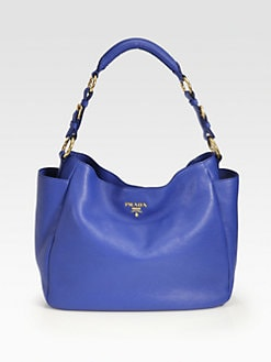 Prada - Daino Side Pocket Hobo