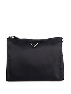 Prada - Nylon Zip Triangle Pouch