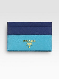 Prada - Saffiano Bi-Color Card Case