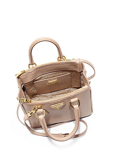 prada saffiano lux satchel bag