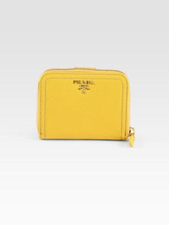 Prada - Daino Small Zip Around Wallet