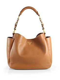 Prada - Vitello Daino Hobo Bag