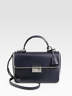 Prada - Saffiano Lux Crossbody Bag