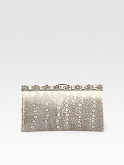 Prada - Crystal & Lizard Clutch