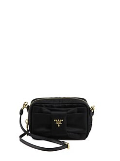 Prada - Tessuto Nylon Bow Crossbody Bag