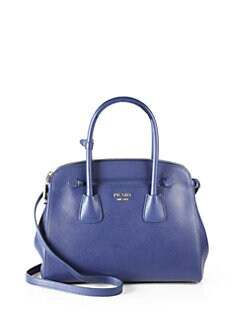 Prada - Saffiano Cuir Top Handle Satchel