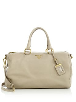 Prada - Vitello Daino East West Satchel