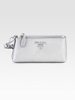 Prada - Saffiano Metal Coin Purse