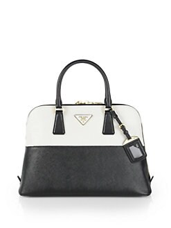 Prada - Saffiano Bicolor Promenade Bag