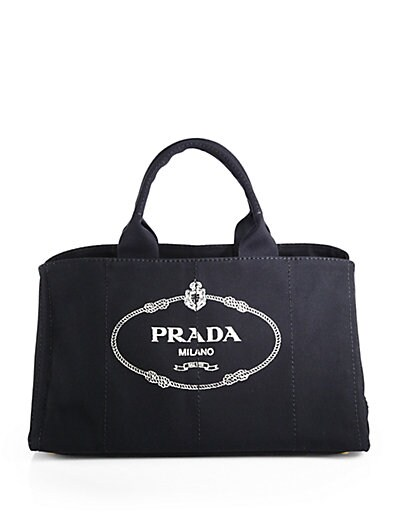 Logo Printed Large Canvas Tote