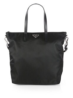 Prada - Vela Nylon Top Handle Bag