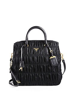 Prada - Tessuto Gaufre Large Nylon Satchel