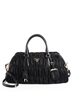 Prada - Tessuto Gaufre Small Nylon Satchel