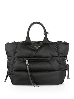 Prada - Tessuto Nylon Puffy Tote