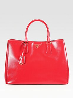 Prada - Saffiano Vernice Tote