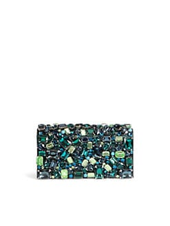 Prada - Raso Stones Box Clutch