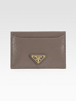 Prada - Saffiano Vernice Flat Card Case