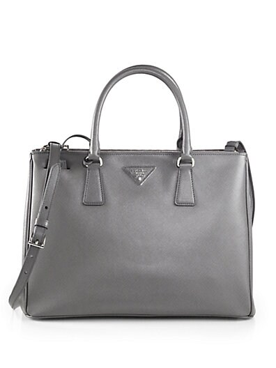 Sale alerts for Prada Saffiano Medium Double Zip Top-Handle Bag - Covvet