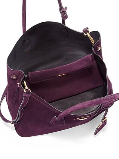 prada handbags red leather - prada suede bag