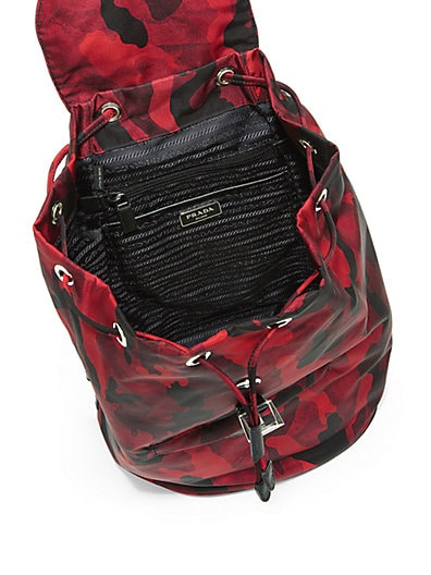 prada clutch bags sale - PRADA Tessuto Camouflage Backpack