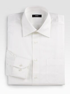 BOSS Black - Tonal Stripe Dress Shirt