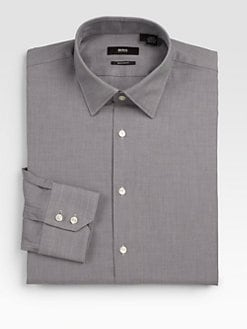 BOSS Black - Textured Dress Shirt