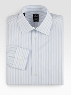 Ike Behar - Striped Dress Shirt