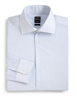 Ike Behar - Track Stripe Dress Shirt