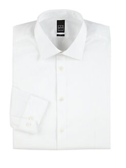 Ike Behar - Slim-Fit Cotton Dress Shirt