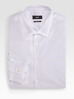 BOSS Black - Striped Dress Shirt