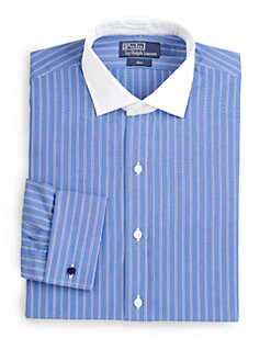 Polo Ralph Lauren - Custom-Fit Striped Estate Dress Shirt