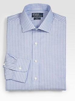 Polo Ralph Lauren - Custom-Fit Striped Regent Dress Shirt
