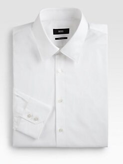 BOSS Black - Gulio Broadcloth Dress Shirt