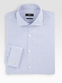 BOSS Black - Checked Dress Shirt