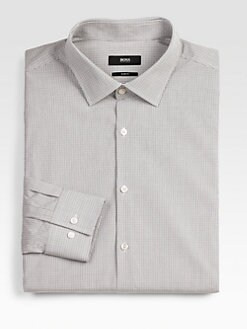 BOSS Black - Gingham Dress Shirt