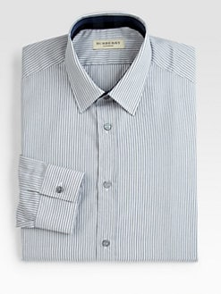 Burberry London - Treyforth Striped Dress Shirt