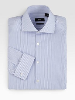 BOSS Black - Double-Striped Dress Shirt