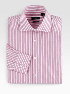 BOSS Black - Widestriped Dress Shirt