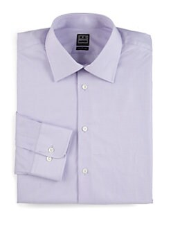 Ike Behar - Check Cotton Dress Shirt