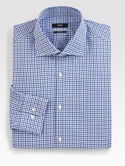 BOSS Black - Mini Check Dress Shirt