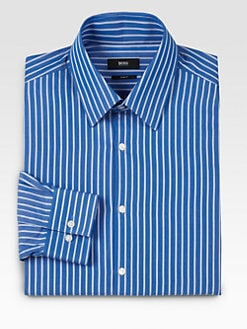BOSS Black - Julien Striped Dress Shirt