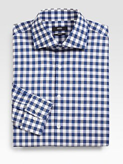 BOSS Black - Miles Cotton Dress Shirt