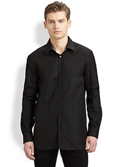 Burberry London - Solid Poplin Sportshirt
