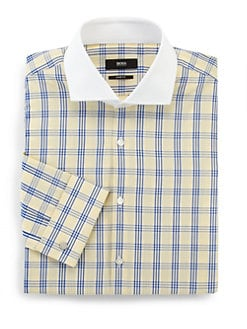 BOSS Black - Check Dress Shirt