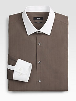 BOSS Black - Jonne Solid Dress Shirt